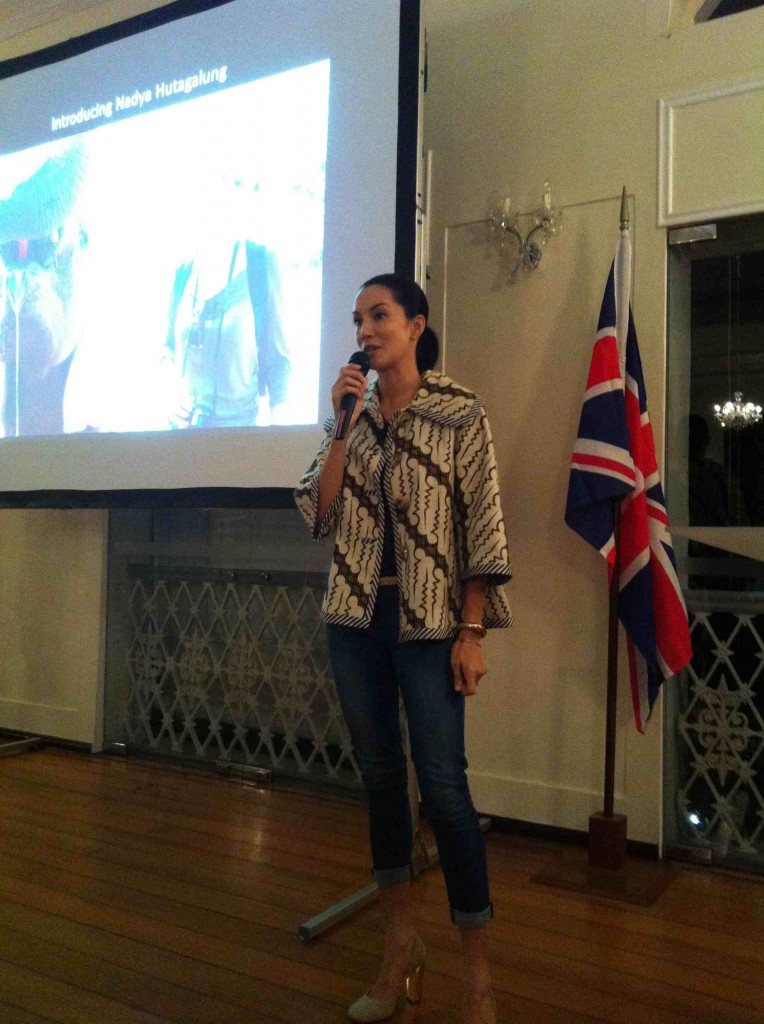 Nadya Hutagalung speaks about how her Kenyan trip with me gave her a deep passion for this cause