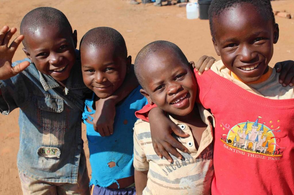Kids at Humani School, Zimbabwe