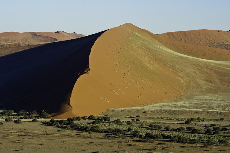 Sossusvlei, Namibia (right next to Kulala Desert Lodge) (credit: Wilderness Safaris)