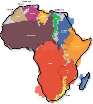 Africa is a big place!