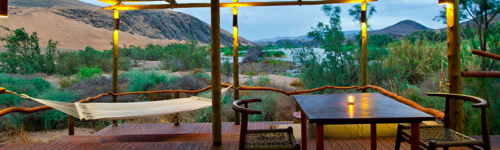 Serra Cafema, my favourite camp in Namibia (photo: Wilderness Safaris)