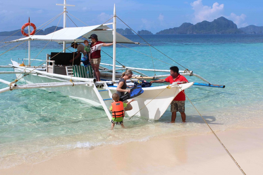 Much of your time around El Nido is spent on a boat, beach or reef
