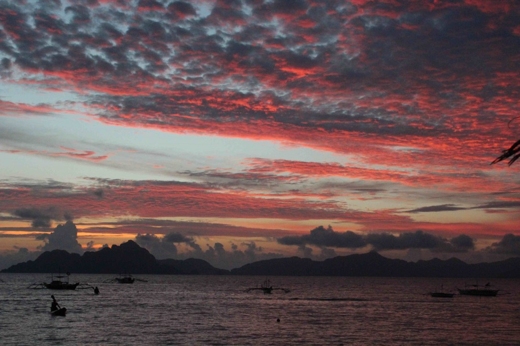 el nido sunset low res