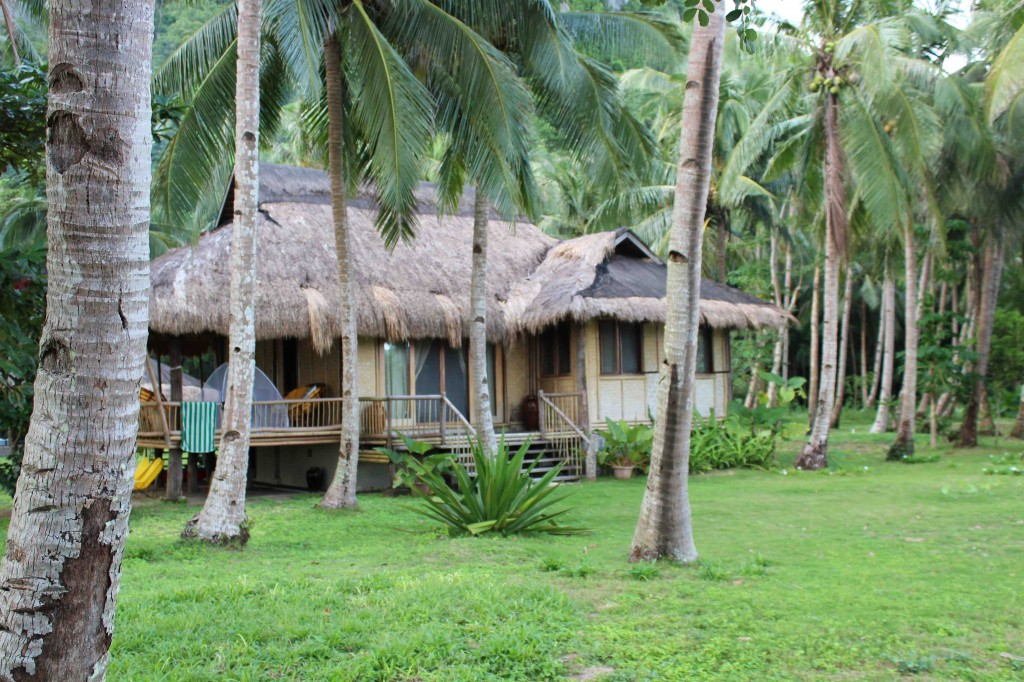 Close up of the villa where we stayed on Lagen Island - book it here