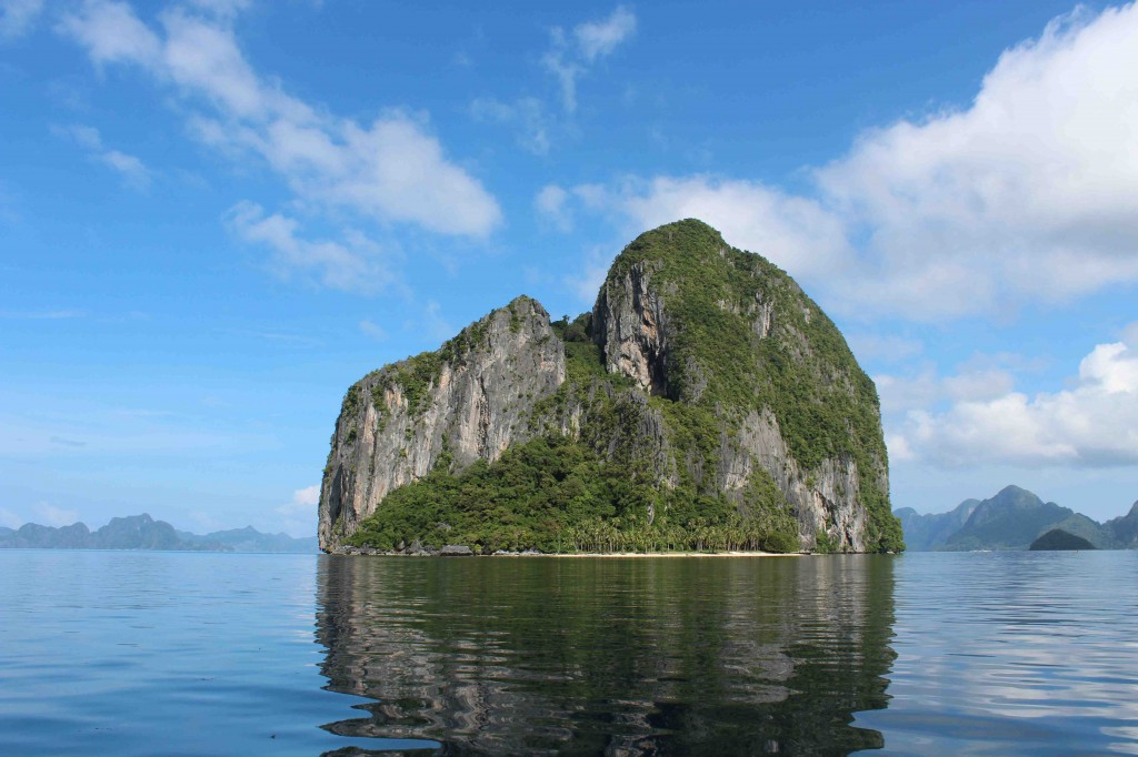 A typical island near El Nido
