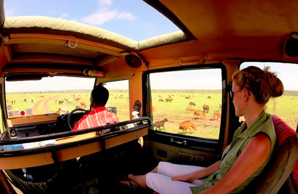 Game drive in the Maasai Mara (credit: Asilia)