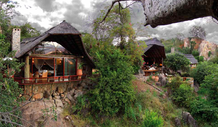 The magnificent Sango Lodge in the Save Valley Conservancy, Zimbabwe