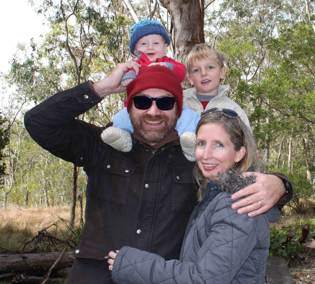 My family at Queen Mary Falls, on the gorgeous Darling Downs, Queensland