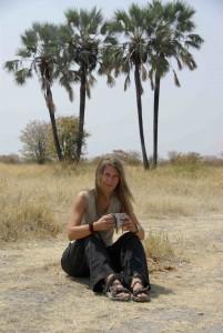 Dr Martina Trinkel, hyaena and lion expert