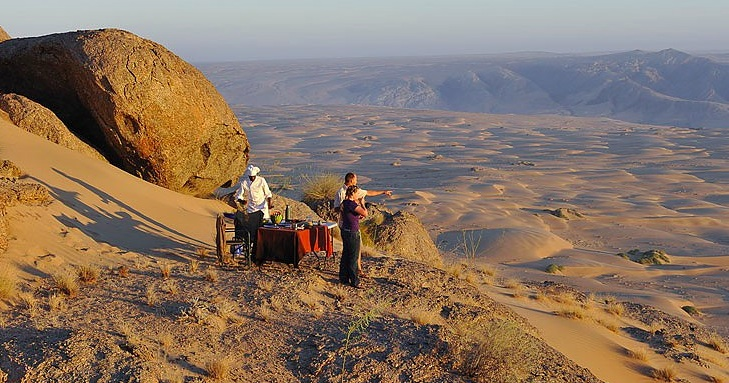 North West Namibia - one of the greatest wilderness areas left in Africa (photo: Wilderness Safaris)
