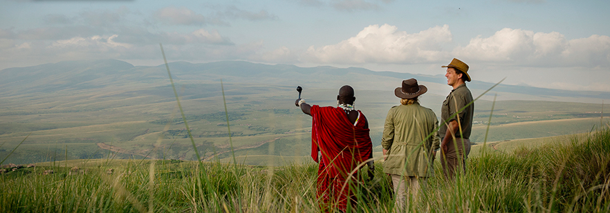 Incredible vista from The Highlands over Ngorogoro Crater (photo: Asilia)