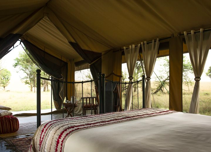 Kimondo Camp tent - the height of luxury, African style! (Photo: Asilia)